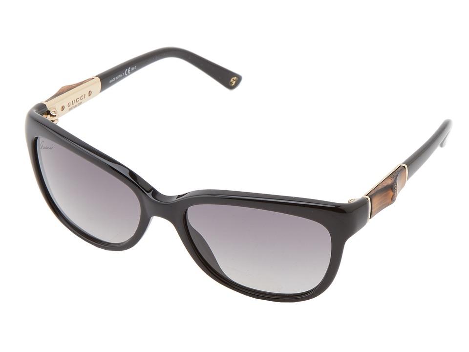Gucci GG 3672/S Black/Grey Gradient Fashion Sunglasses