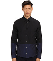 CoSTUME NATIONAL - Color Block Button Up Shirt
