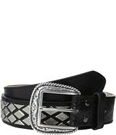 Ariat - Diamond Nailhead Basket Weave Belt