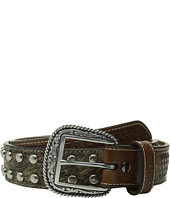 Ariat - Studded Concho Hair Calf Belt