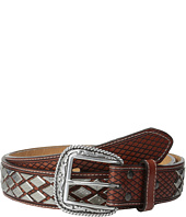 Ariat - Diamond Nailhead Basket Weave Belt
