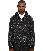 CoSTUME NATIONAL - Printed Jacket w/ Hoodie