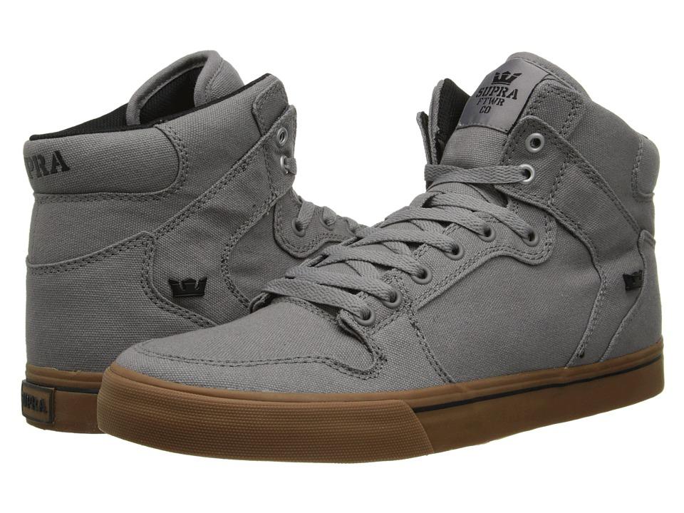 Supra - Vaider (Storm Grey/Gum) Skate Shoes