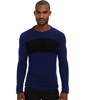 CoSTUME NATIONAL - Mixed Knit Crewneck Sweater