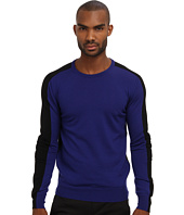 CoSTUME NATIONAL - Color Block Crewneck Sweater