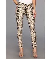 7 For All Mankind - The Highwaist Ankle Skinny in Mixed Leopard