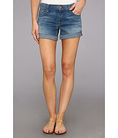 7 For All Mankind - Boyfriend Short in Light Cobalt Blue
