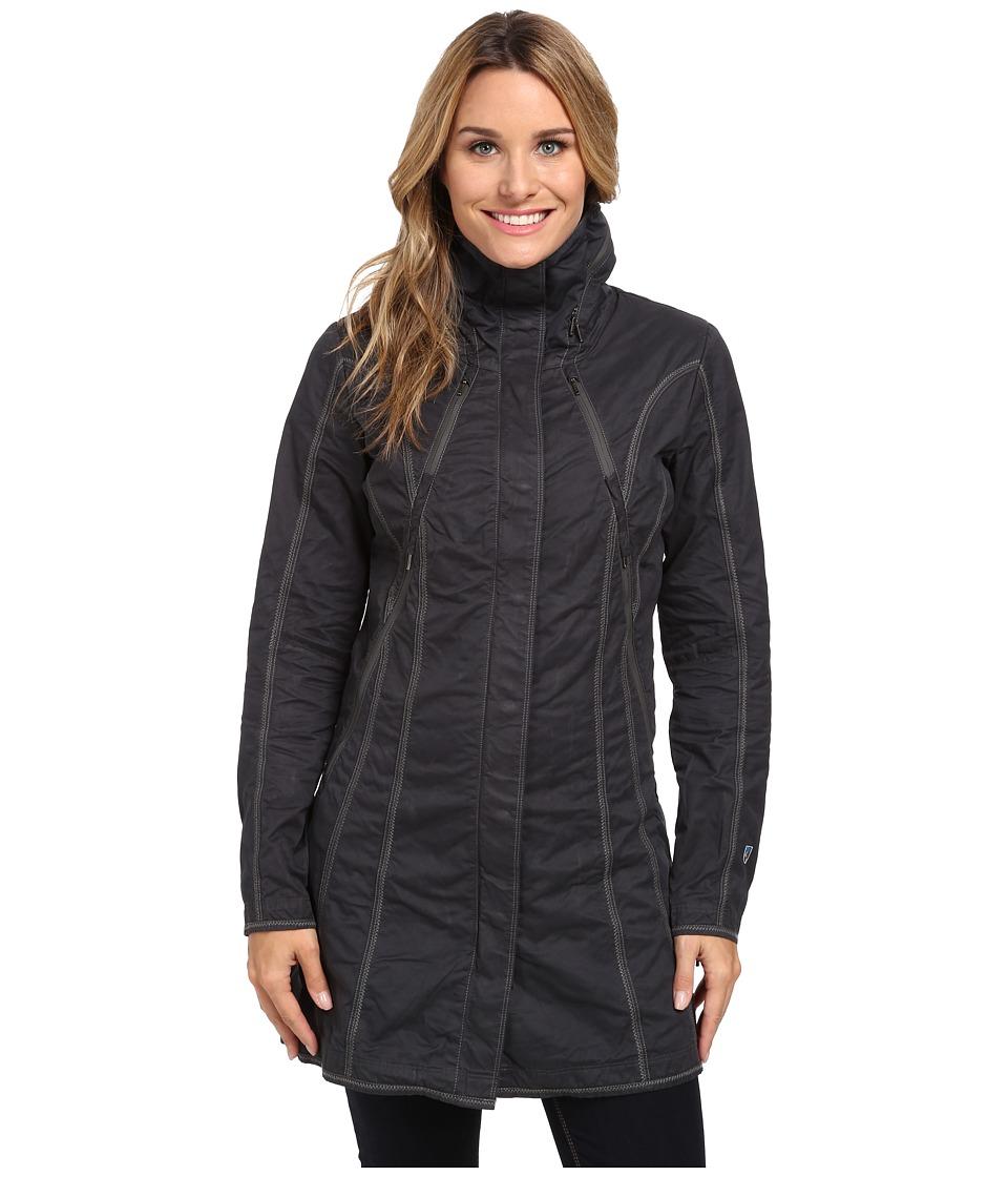 Kuhl Lena Trench Carbon Womens Coat