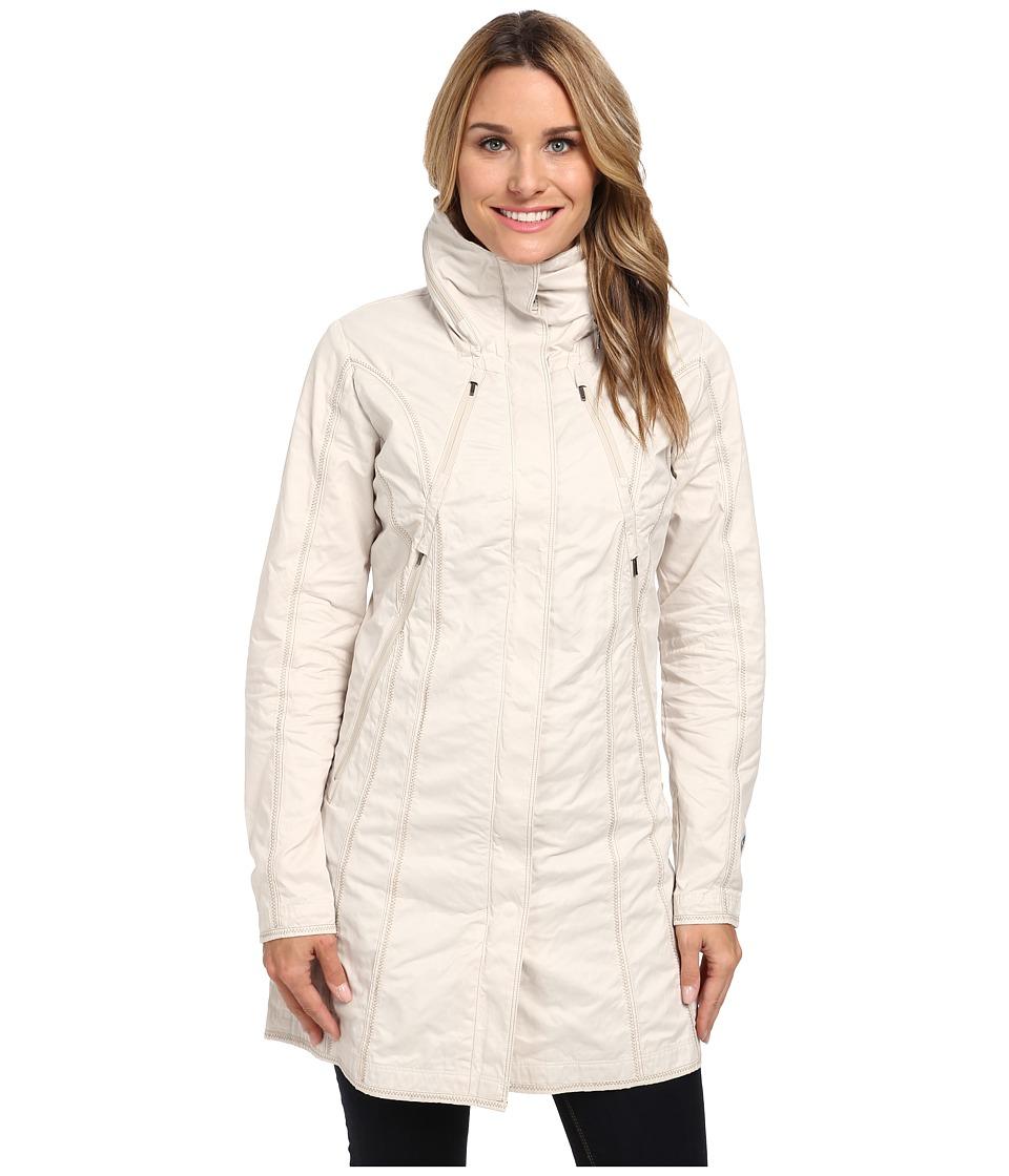 Kuhl Lena Trench Natural Womens Coat