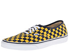Vans - Authentic ((Golden Coast) Dress Blues/Yellow Checker) -
