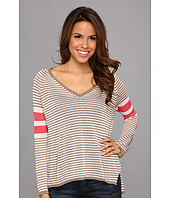 525 america - V-Neck Mini Stripe
