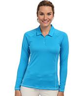 adidas Golf - CLIMACHILL® Contrast Flatlock Long Sleeve Polo