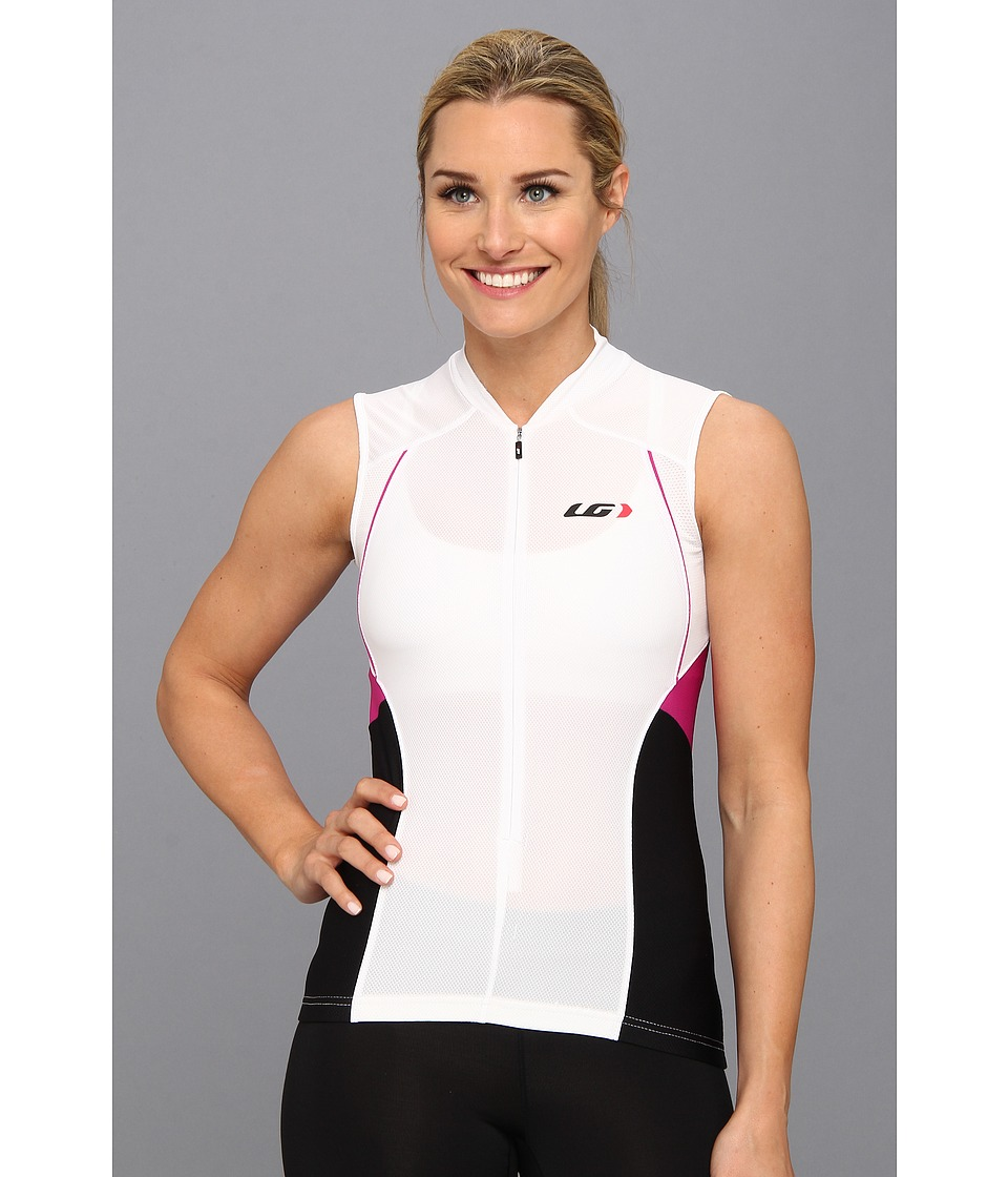 Louis Garneau Beeze Vent Sleeveless Jersey White Womens Sleeveless