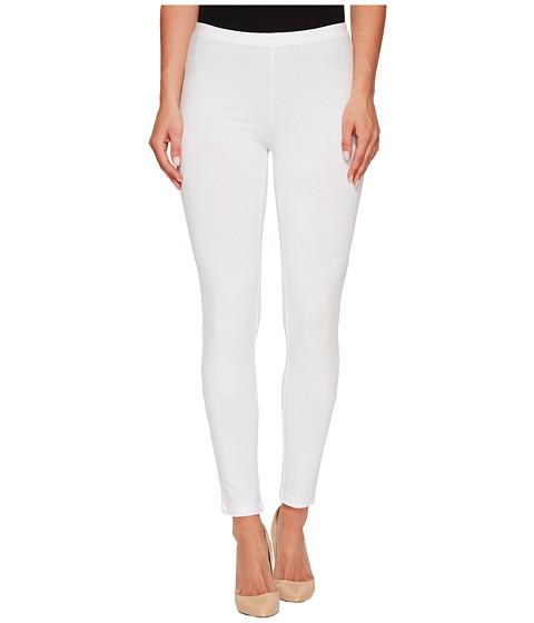 HUE - Cotton Legging (White) Women's Casual Pants