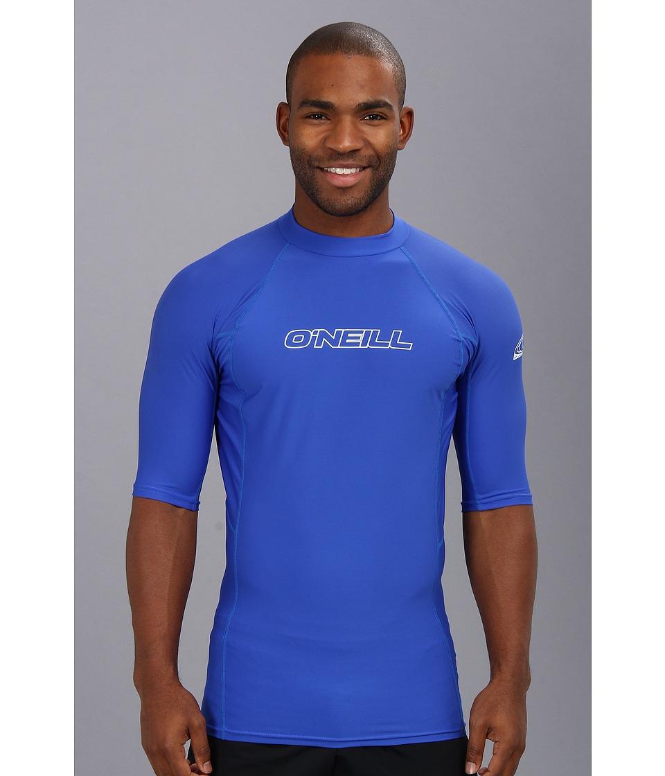 ONeill Basic Skins S/S Crew Pacific Mens Swimwear