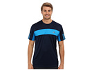 adidas - Tennis Sequencials Galaxy Tee (Collgiate Navy/Solar Blue/White)