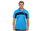 adidas - Tennis Sequencials Galaxy Polo (Solar Blue/Collegiate Navy)