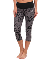 adidas - Performer Mid-Rise Animal Print Three-Quarter Tight