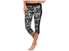 adidas - Techfit Three-Quarter Tight - Chevron (Black Print)