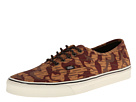 Vans - Authentic ((Waxed) Geo Camo) -
