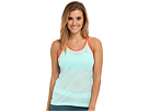 adidas - Supernova Mesh Tank Top (Frost Mint/Semi Solar Red)