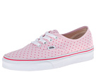 Vans - Authentic ((Chambray Dots) Hot Pink) -