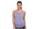 adidas - Twist Scrunch Tank Top (Power Purple/Vivid Mint)
