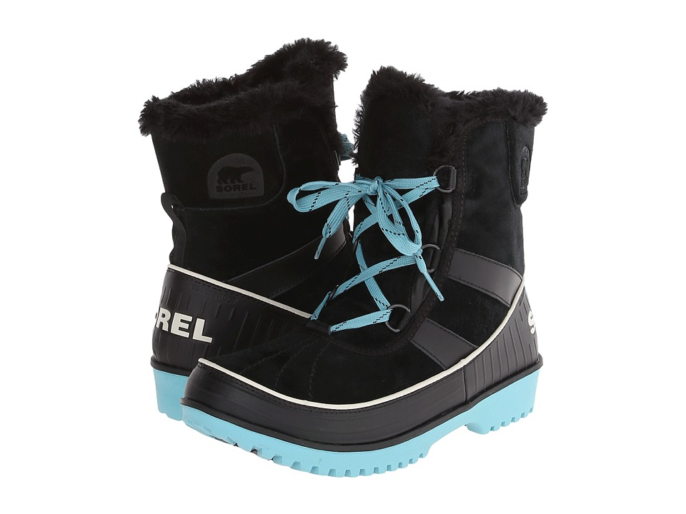 SOREL Kids Tivoli II (Little Kid/Big Kid) (Black) Girls Shoes