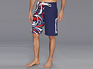 Loudmouth Golf Splash USA Navy Boardshort