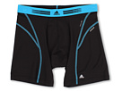 adidas - Sport Performance Flex360 Boxer Brief (Black/Solar Blue)