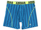 adidas - ClimaCool Graphic Boxer Brief (Shockwave Solar Blue/Solar Slime)