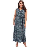 NIC+ZOE - Plus Size Pop of Paisley Maxi Dress