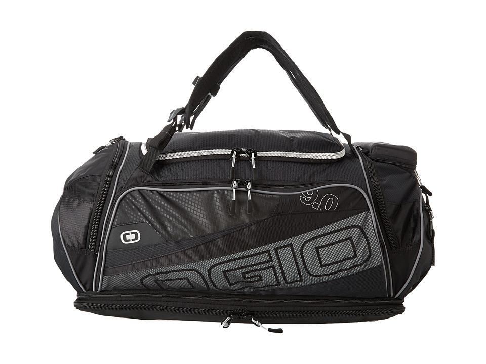 OGIO Endurance 9.0 Bag Black/Silver Duffel Bags