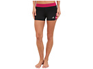 adidas - Techfit 3 Boy Short - Chevron (Black/Solar Pink)