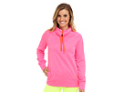 adidas - Ultimate Half-Zip Fleece (Solar Pink Heahter/Solar Red)