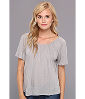 Chaser - Shirred Open Back Tee
