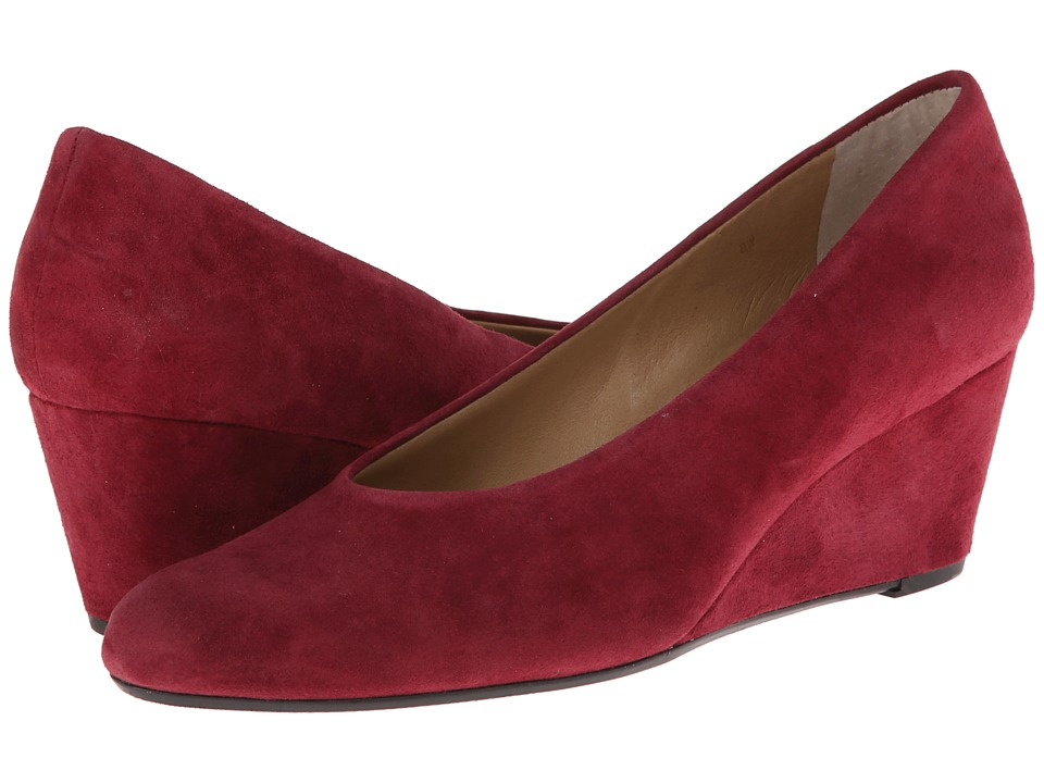 Vaneli Dilys (Opera Red Suede) Women's Shoes