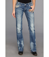 Rock and Roll Cowgirl - Juniors Low Rise Boot Cut in Medium Vintage