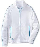 adidas Golf Kids - 3 Stripe Piped Jacket (Big Kids)