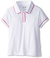 adidas Golf Kids - Performance Solid Piped Polo (Big Kids)