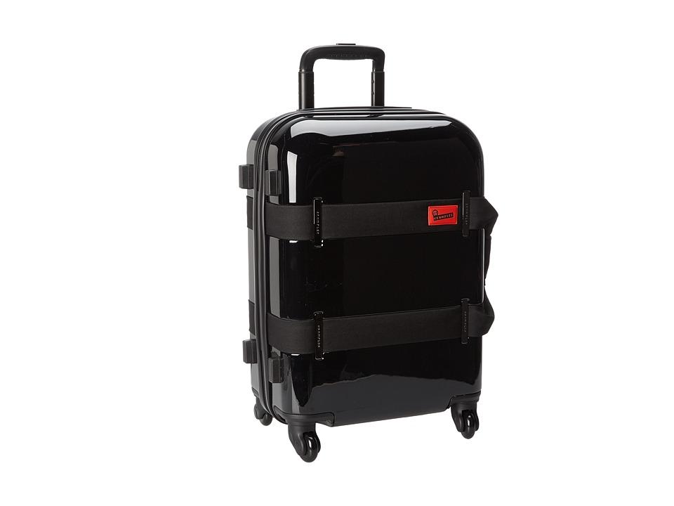 Crumpler - Vis-A-Vis Cabin 4 Wheeled Luggage (Black) Luggage