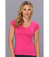 U.S. Polo Assn - Solid V-Neck Tee