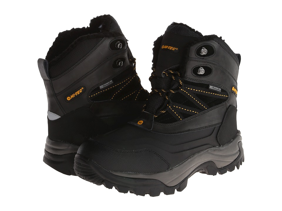 Hi-Tec Snow Peak 200 WP (Black/Gold) Men