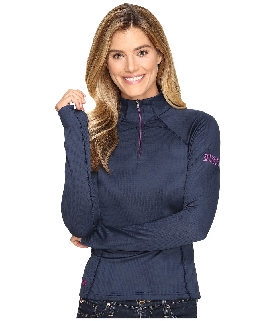 Outdoor Research Radiant LT Zip Top (Night/Ultraviolet) Women