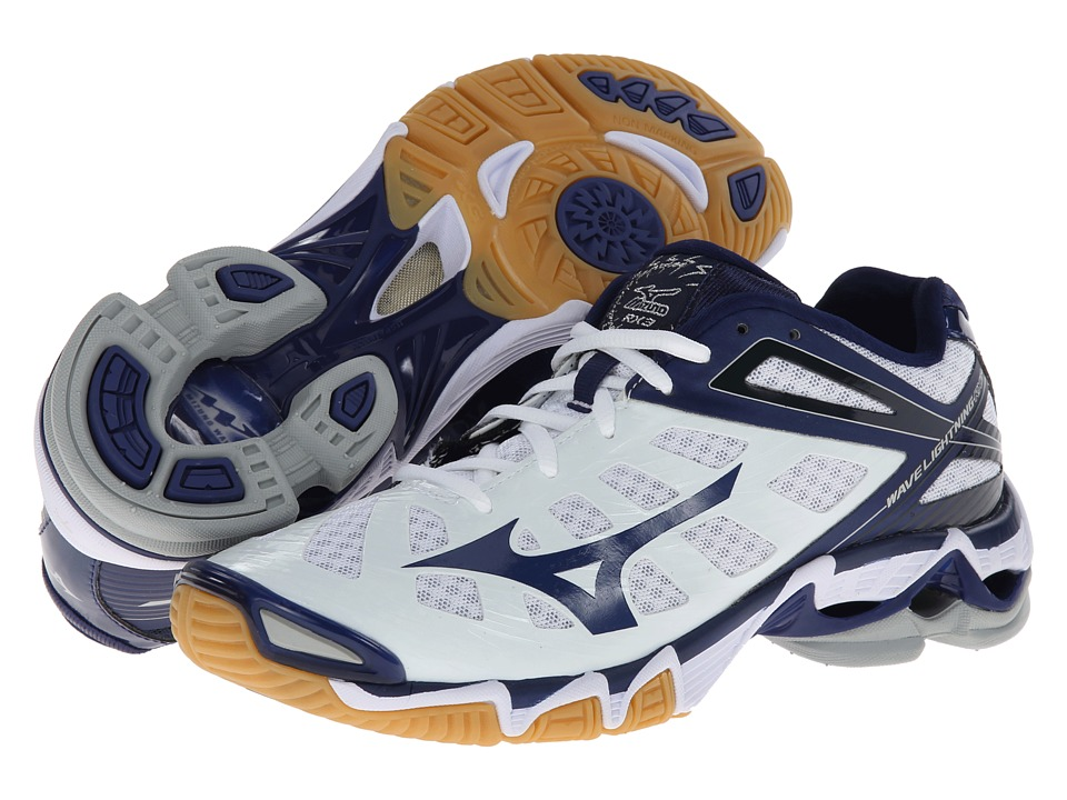 Mizuno Volleyball Shoes White And Blue - Best Shoes 2017