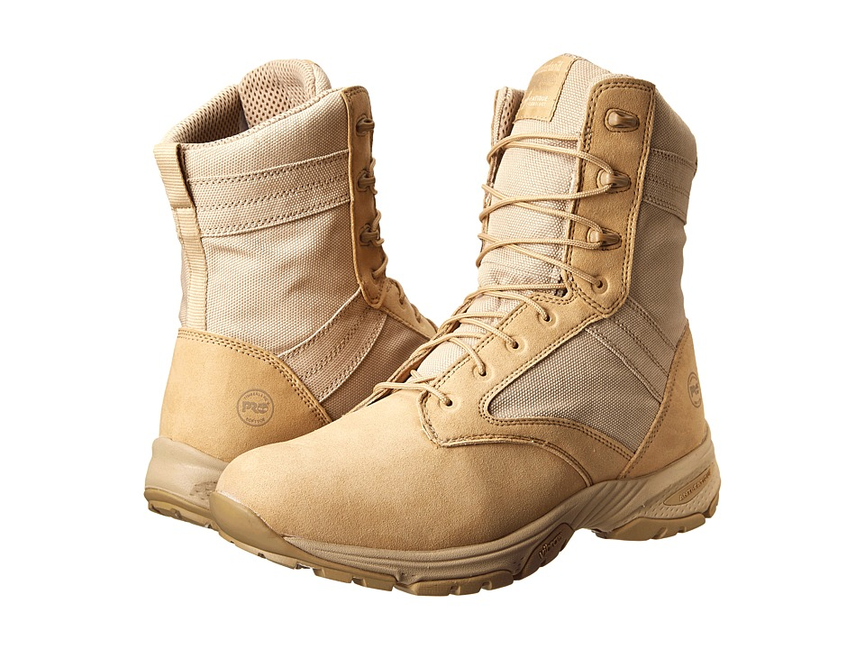 Timberland PRO 8 Valor Desert Soft Toe (Tan) Men