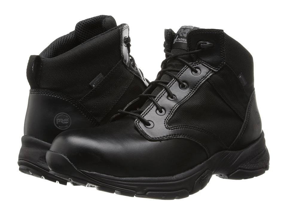Timberland PRO Valor 5 Waterproof Black Mens Waterproof Boots
