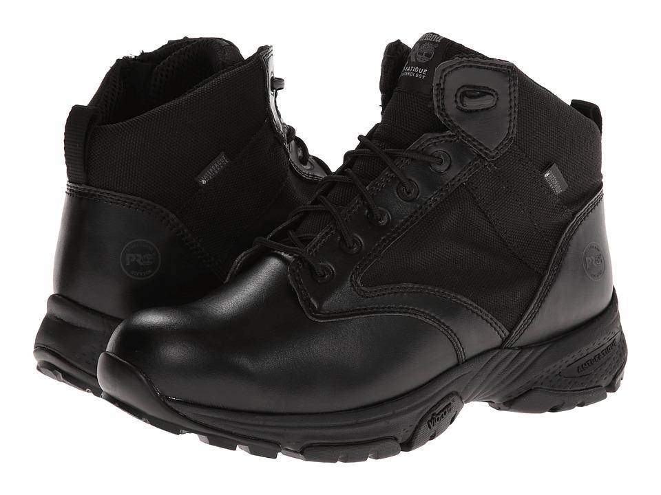 Timberland PRO Valor 5 WP Side-Zip (Black) Men