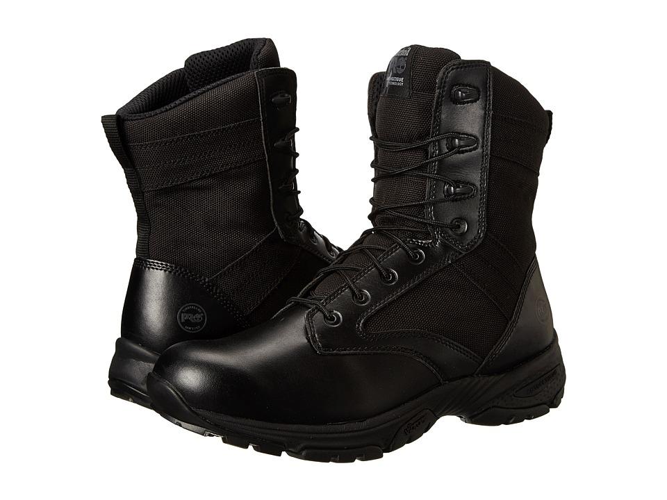 Timberland PRO Valor 8 Black Mens Work Boots