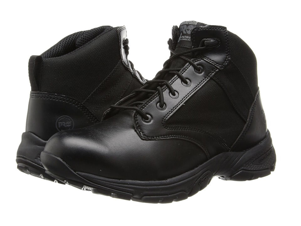 Timberland PRO - Valor Tactical 5 Soft Toe (Black) Mens Work Boots